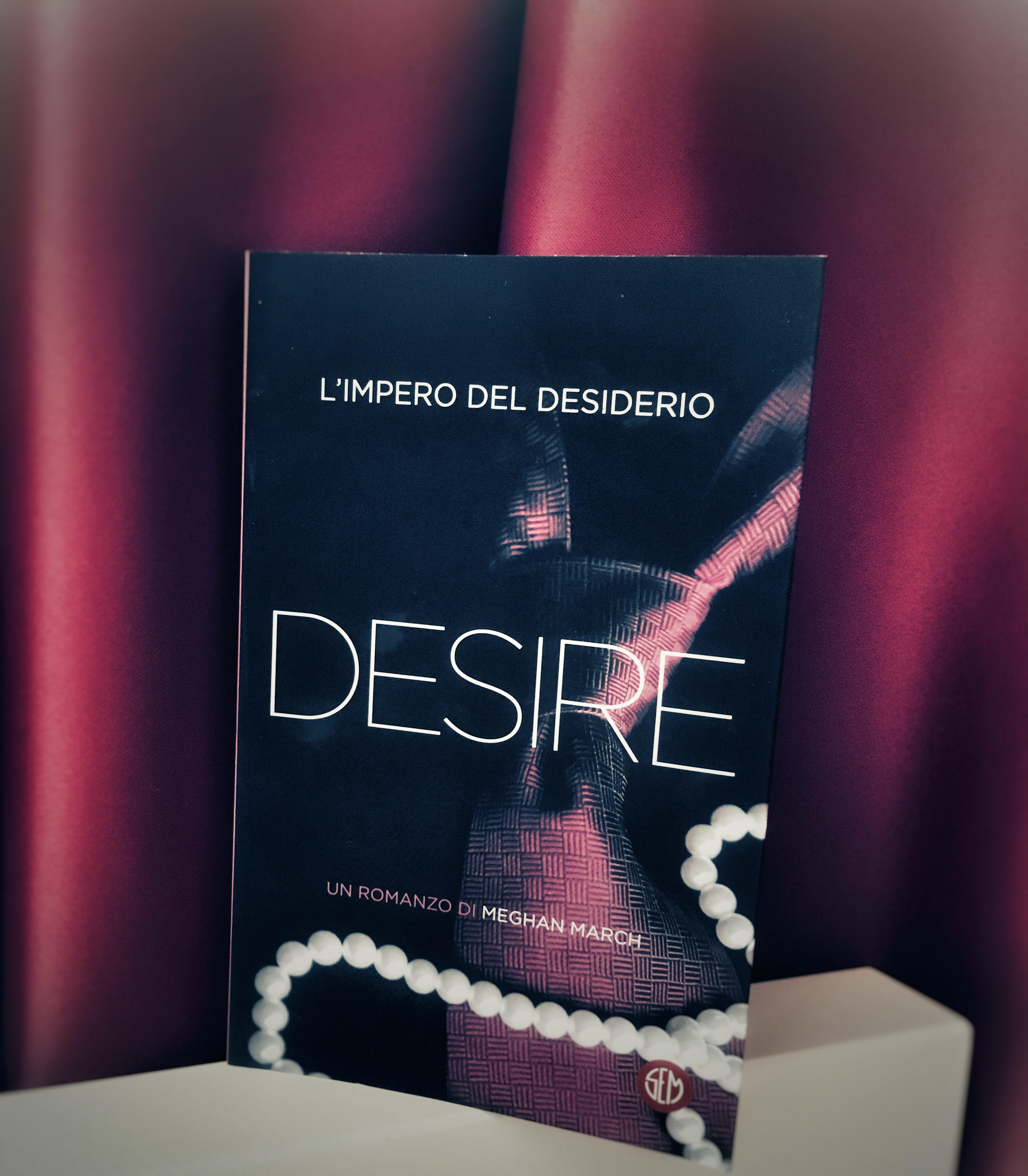 Desire L'impero Del Desiderio – Meghan March, RECENSIONE