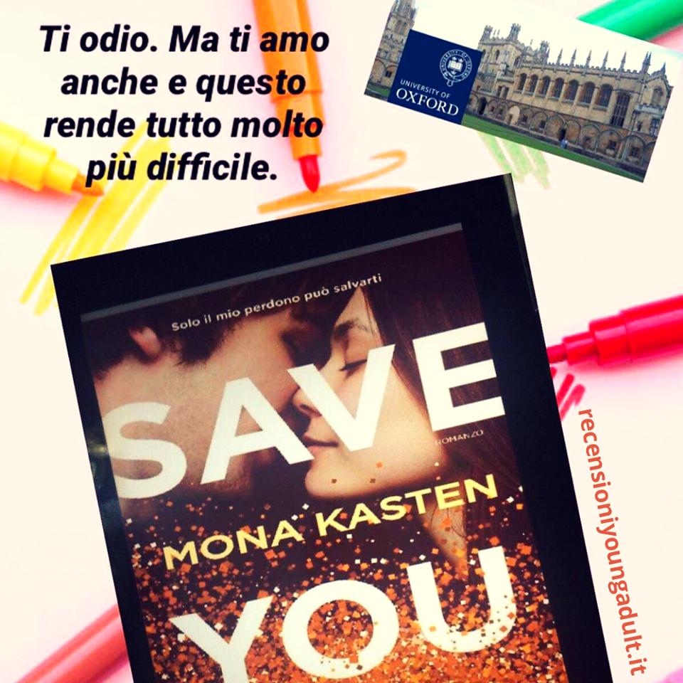 SAVE YOU – MONA KASTEN, RECENSIONE