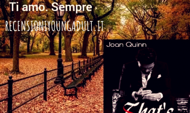 THAT'S ME – Joan Quinn, RECENSIONE