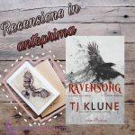 Ravensong: Il canto del corvo - T J Klune, RECENSIONE ANTEPRIMA
